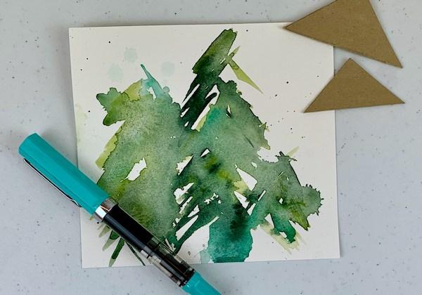 Christmas card tree 3