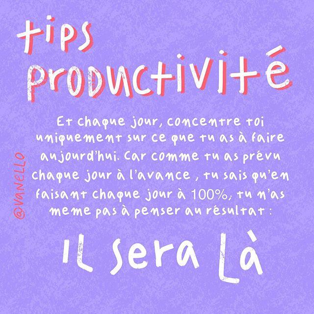 Tips Productivité 2