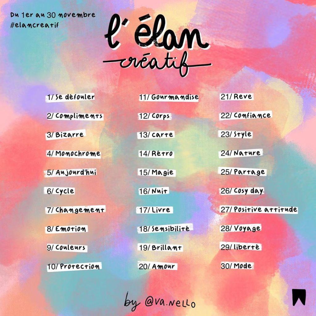 themes elan creatif