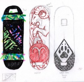 skateboard-decks-sketches