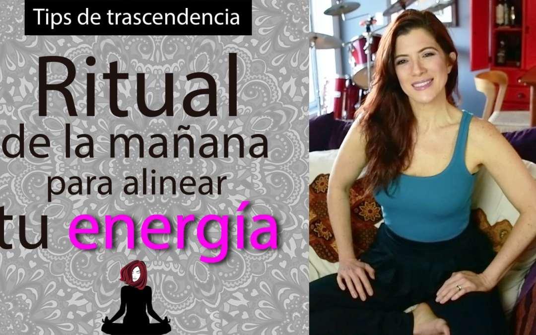 Poderoso ritual de buenos días para alinear tu energía