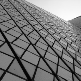 The sails of the Opera House - up close and personal