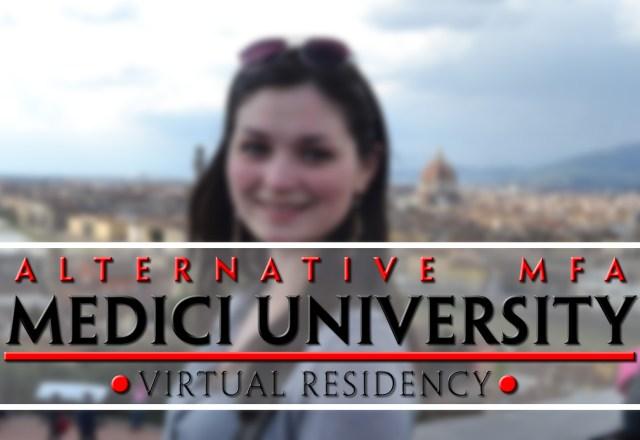 Medici University, Alternative MFA's, Virtual Residency poster