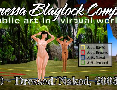 VB 210 – Dressed/Naked, 2003/2020