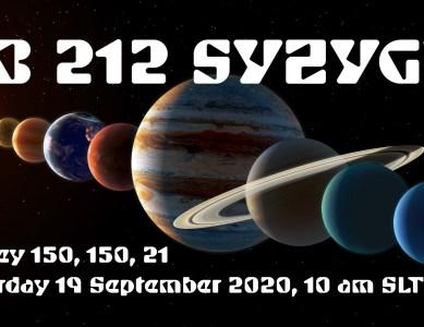 VB 212 – Syzygy