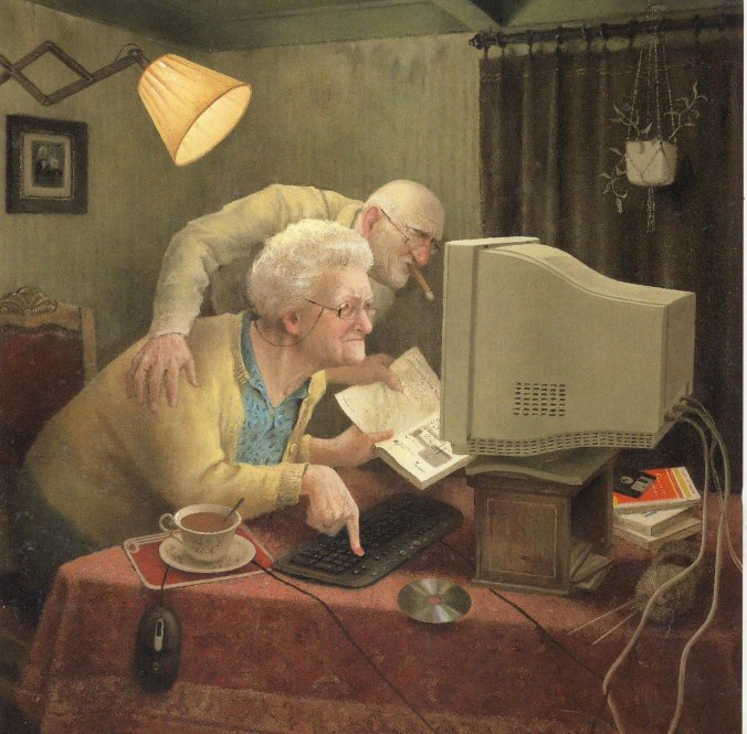 old people and pc