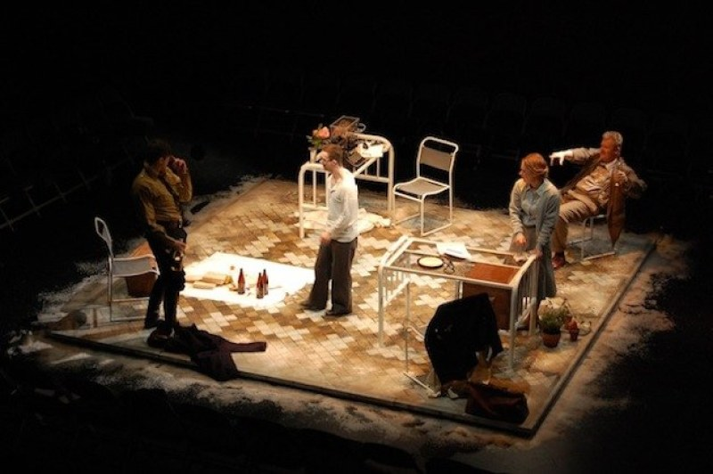 Hypothermia/National tour of a piece of integrated theatre