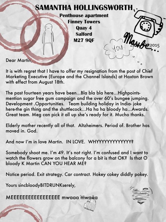 Samanthas notice letter