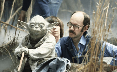 Frank Oz, el talento detrás del Maestro Jedi Yoda. Fuente: www.bgeek.it