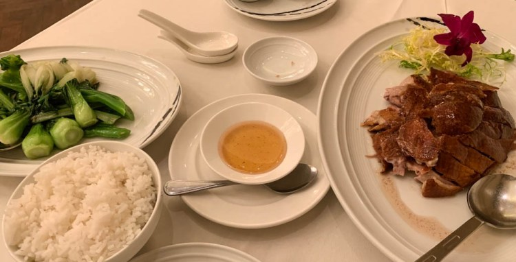 Fine dining, Mandarin Oriental, duck, food, travel, luxury, restaurant, Kuala Lumpur, Malaysia