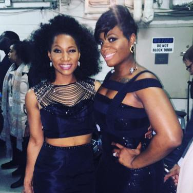 Backstage at BET Honors with Fantasia