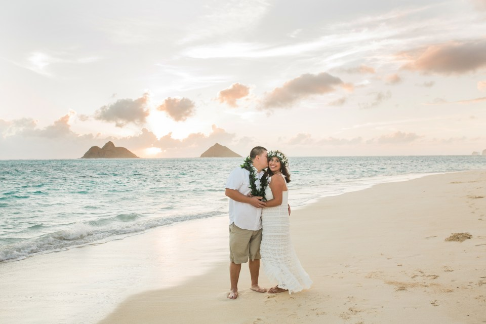 Lanikai Beach Vow Renewal