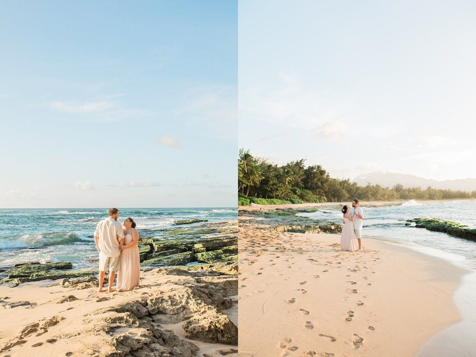 Hawaii Elopement on North Shore