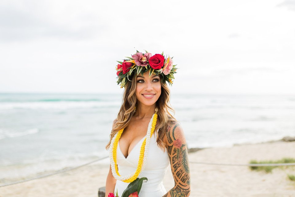 Luau Wedding in Hawaii