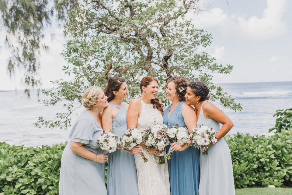 Turtle Bay Weddings Bridesmaids