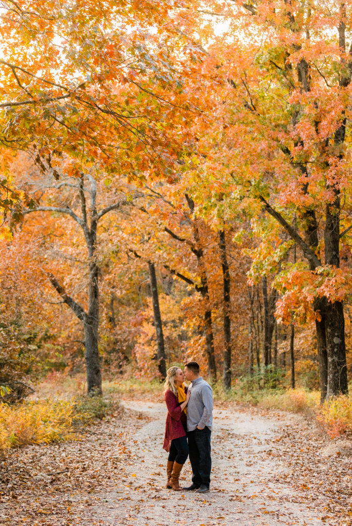 Fall Engagement Session_ Vanessa Hicks Photography