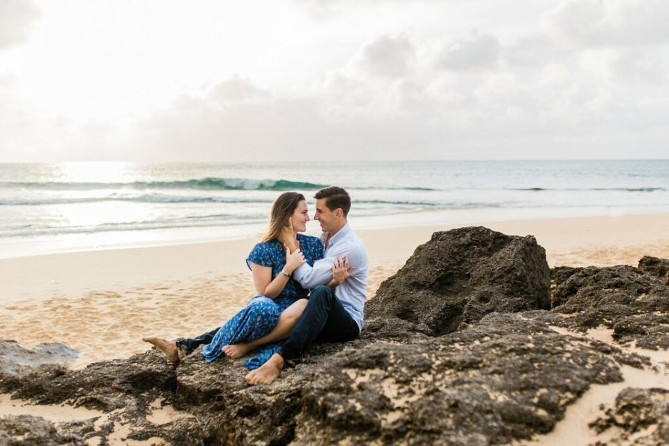 Hawaii North Shore Beach Engagement Session