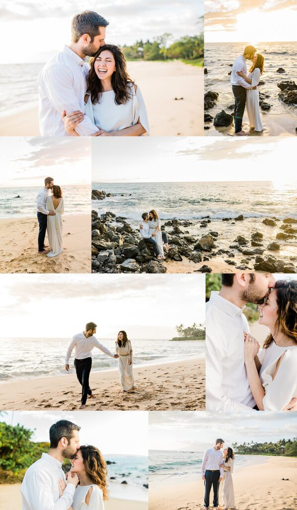 Honeymoon photography session in Maui by Vanessa Hicks Photography