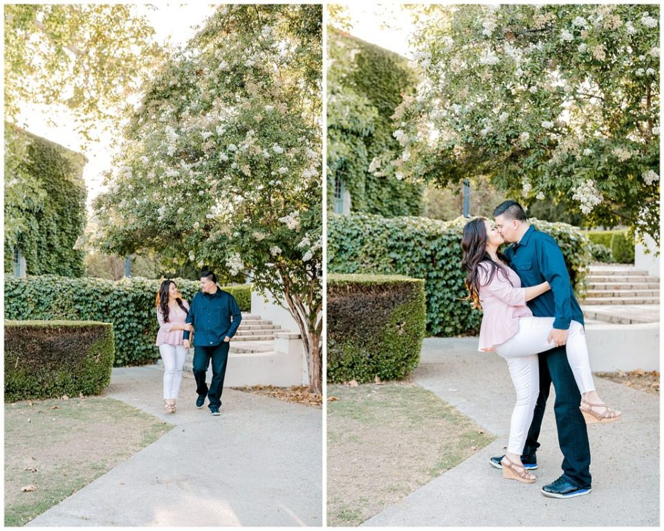 beautiful engagement session in LA