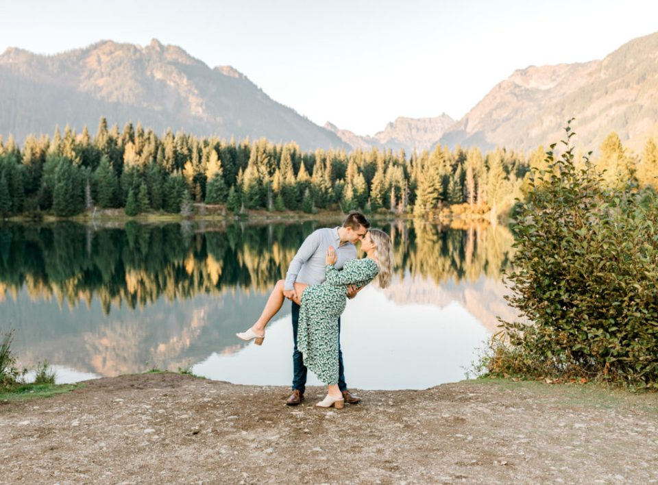 engagement session in seattle