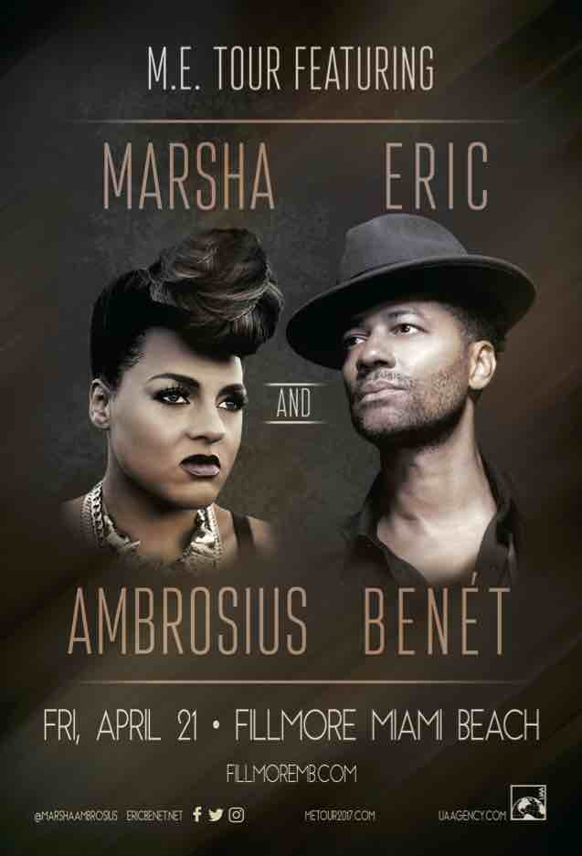 #CocktailsandConcerts 2017 kickoff with Marsha Ambrosius and Eric Benet