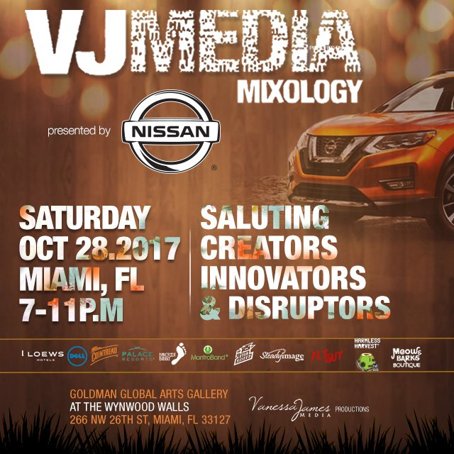 The VJMedia Mixology- RSVP here.