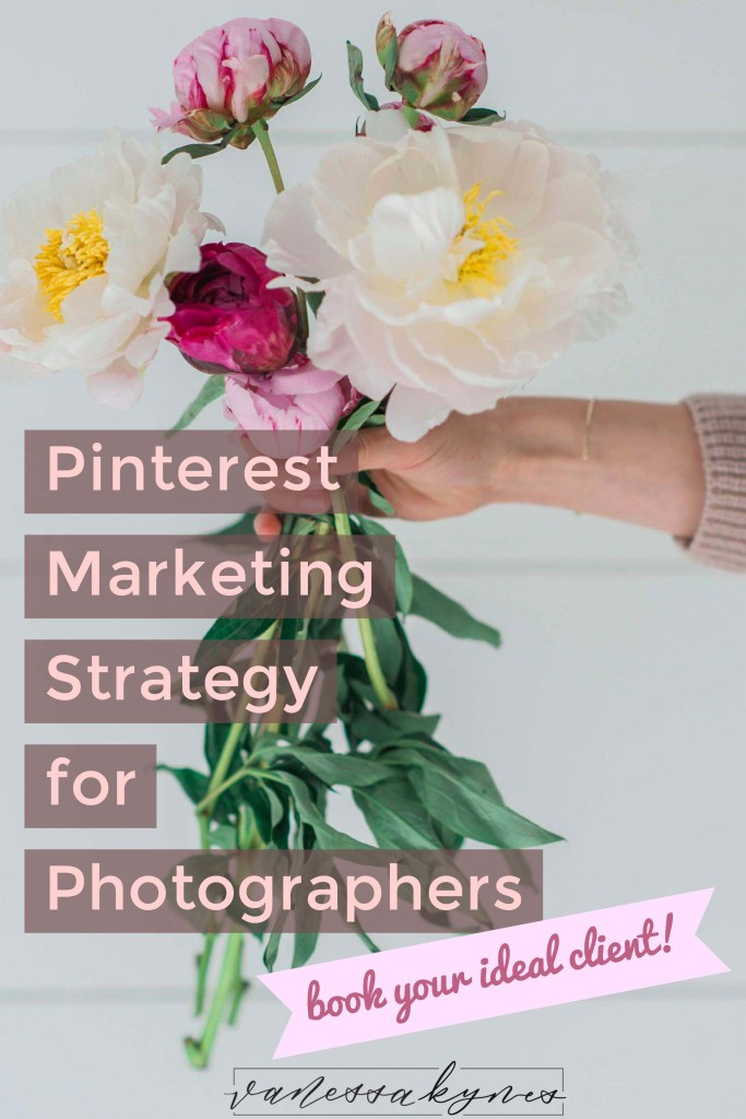 Are you using Pinterest to promote your photography business? I am sharing helpful Pinterest marketing strategy to get noticed and booked by your ideal client.