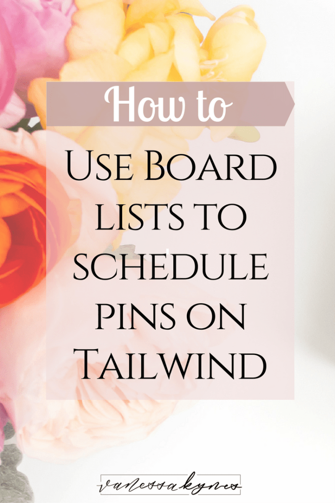 Do you schedule your pins on Pinterest? Board lists on Tailwind are a great a feature and allow you to quickly schedule pins to several boards at once! I show you how in this video tutorial.