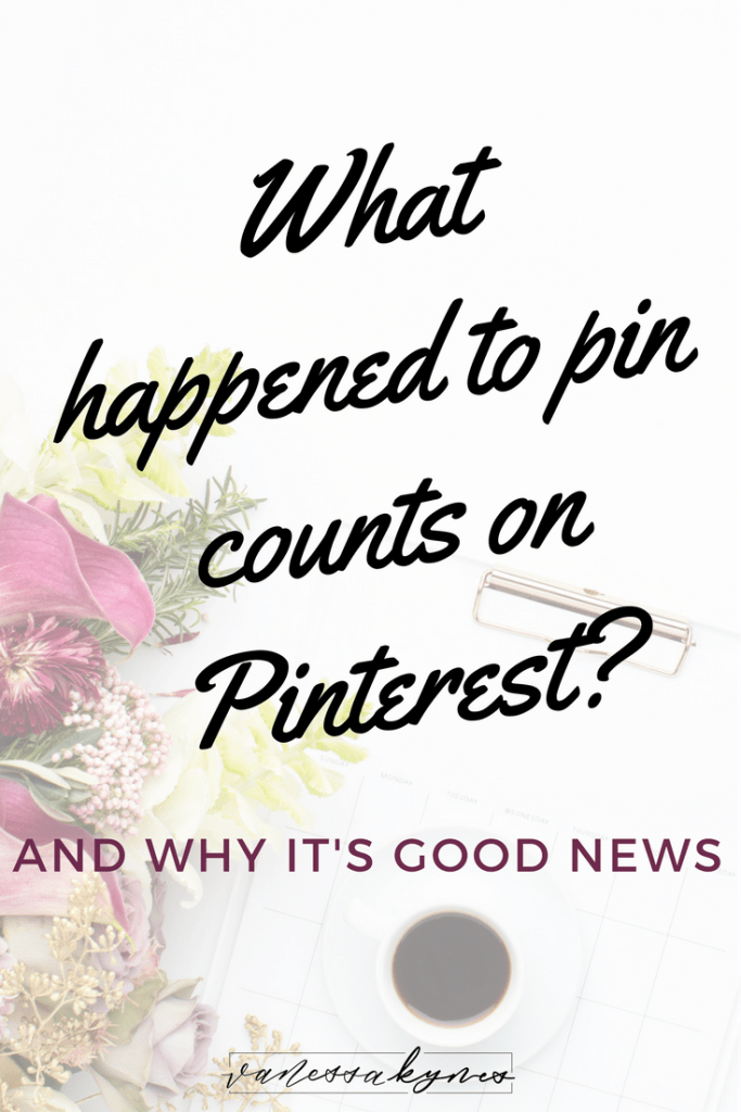 Pinterest is constantly changing, but using consistent Pinterest marketing strategies will lead to visibility and traffic. Recently, Pinterest removed pin counts. Find out why Pinterest removed them and why it will ultimately lead to better search results. #pinterestmarketing #pinteresttips #pinterestforbusiness #creativeentrepreneur