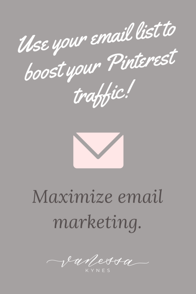 With the new Pinterest changes, getting followers to share your content on Pinterest is more important than ever. In this blog post, I'm sharing 3 tips to encourage your email list to promote your Pinterest account.