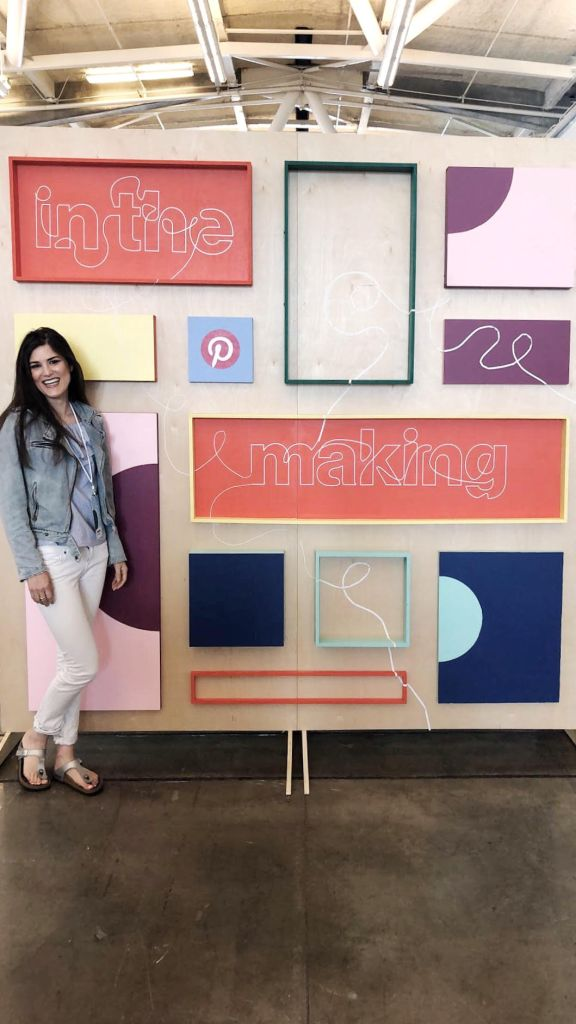 in the making conference with Pinterest