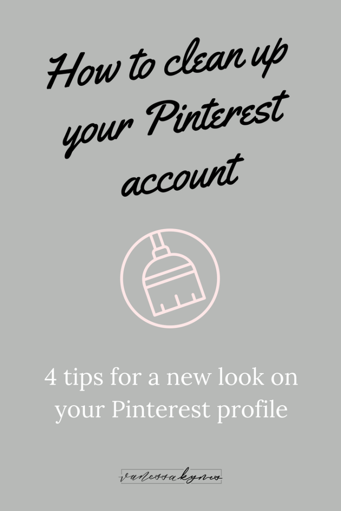 If you've been using Pinterest since its creation, you probably have hundreds of pins and boards without optimization. If you want to get serious about using Pinterest for business, you need to take steps to optimize your content for the search bar to drive traffic to your site. In this post, I'm sharing how to clean up your Pinterest account.