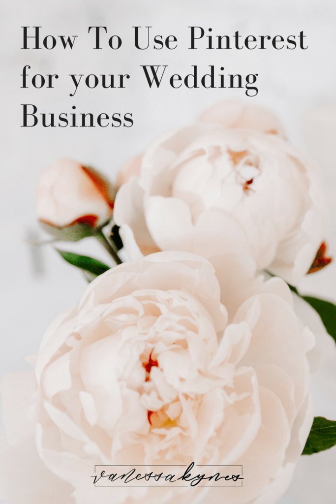 How to use Pinterest for wedding professionals