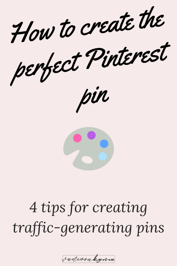 making Pinterest pins-Vanessa Kynes