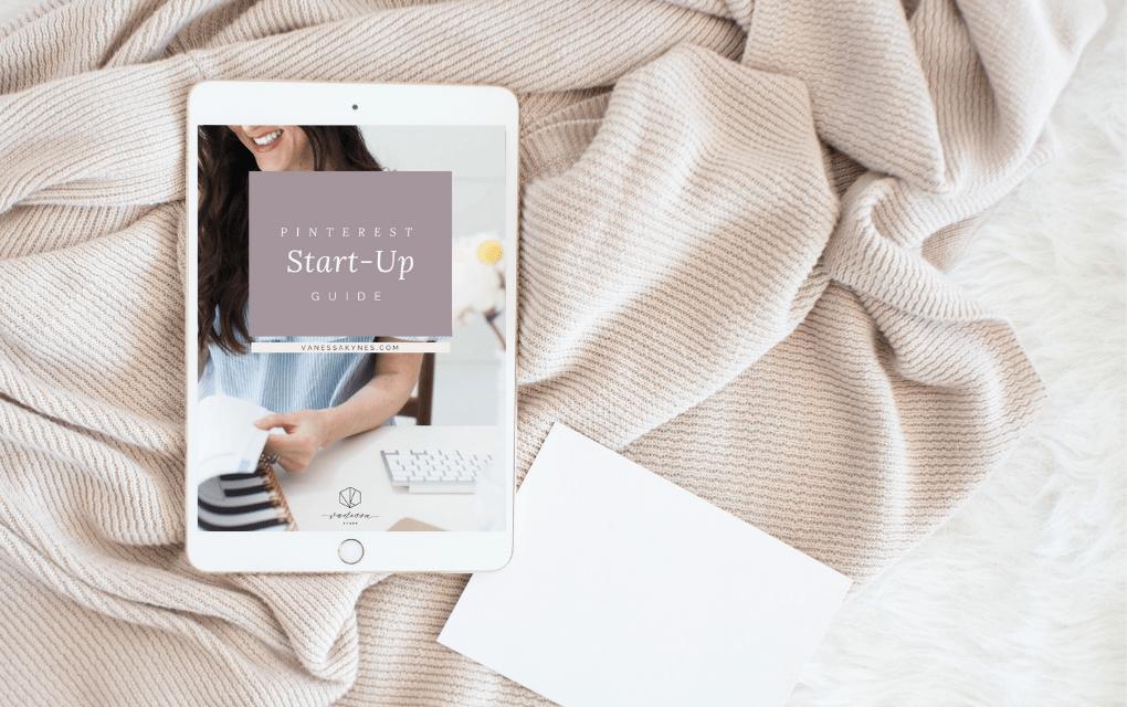 Pinterest marketing guide- Vanessa Kynes