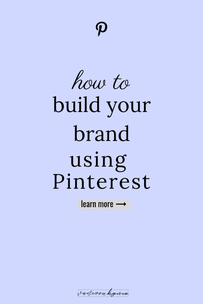 Build your brand: how to-Vanessa Kynes