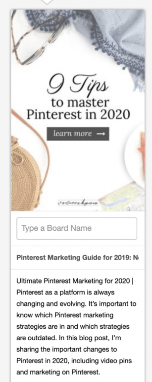 How to manually upload a pin to Pinterest using pin titles and descriptions.