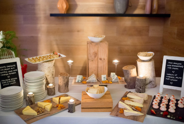 Cheese Table - P&B Wedding - Encore copy