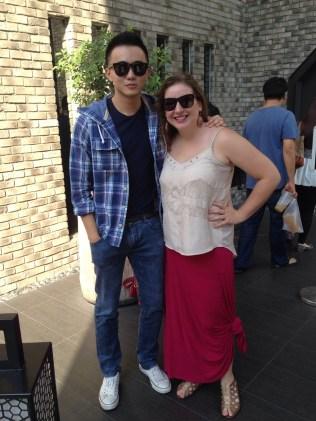 Dennis and I (Yeah SJP!)