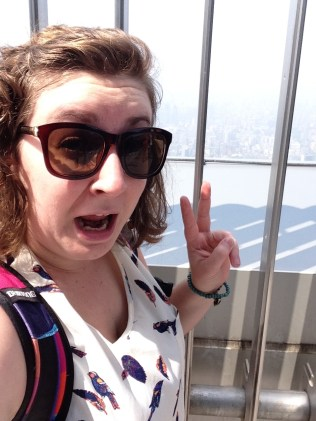 I am not liking this whole heights thing!