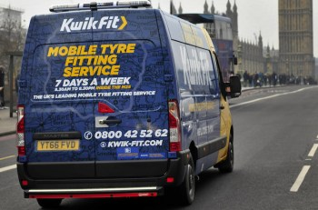Kwik Fit 'Mobile7' van