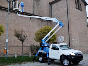 Socage A314 pick-up mounted platform