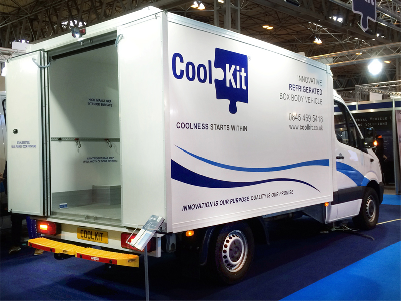 a71680b5af CoolKit showcases box body refrigerated vehicle at CV Show