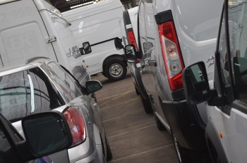 Vans ready for auction