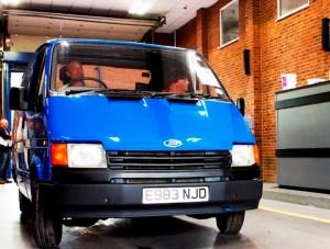 Manheim sells Spy Van for £10,300