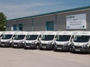 The Millbrook Healthcare fleet