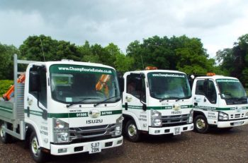 Champfleurie Estates' all-Grafter distribution fleet