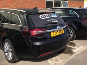 Gripit vehicles fitted with Ctrack tracking technology