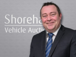 Tim Spencer, Shoreham Vehicle Auctions' commercial vehicle sales manager