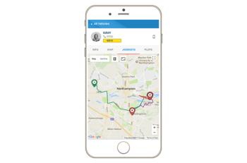 VeriLocation's mobile app